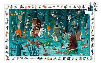 The Orchestra Animals Children's Puzzles