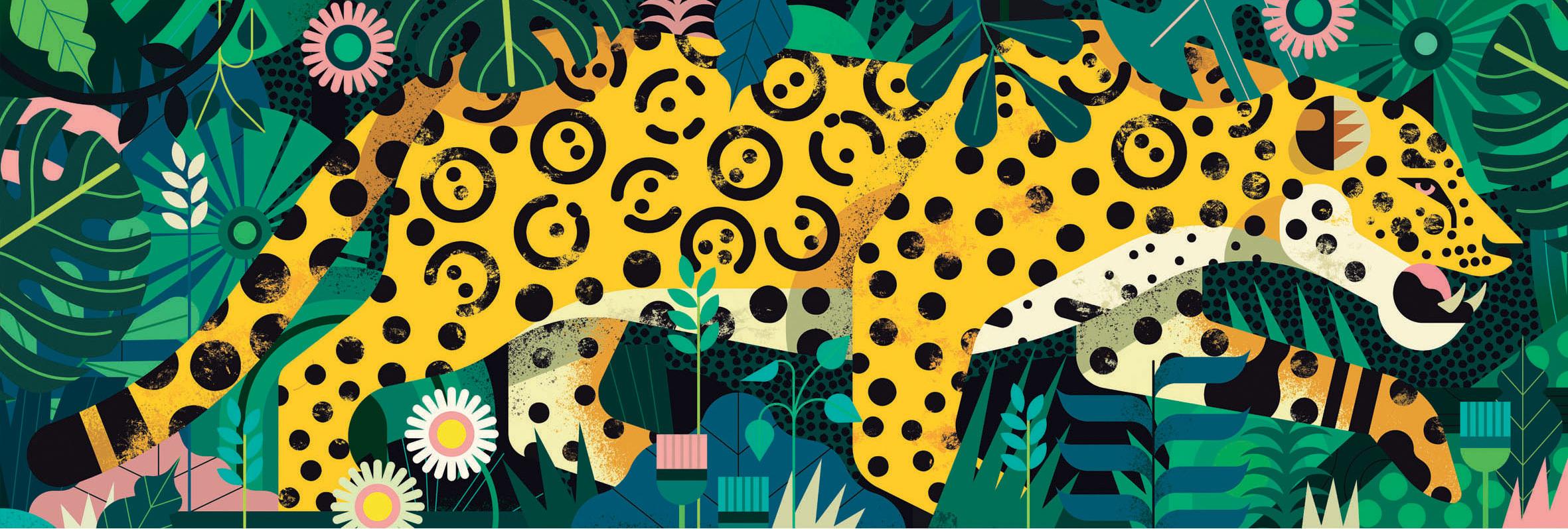 Leopard Jungle Animals Jigsaw Puzzle