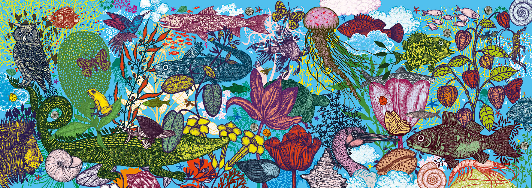 Land and Sea Under The Sea Jigsaw Puzzle