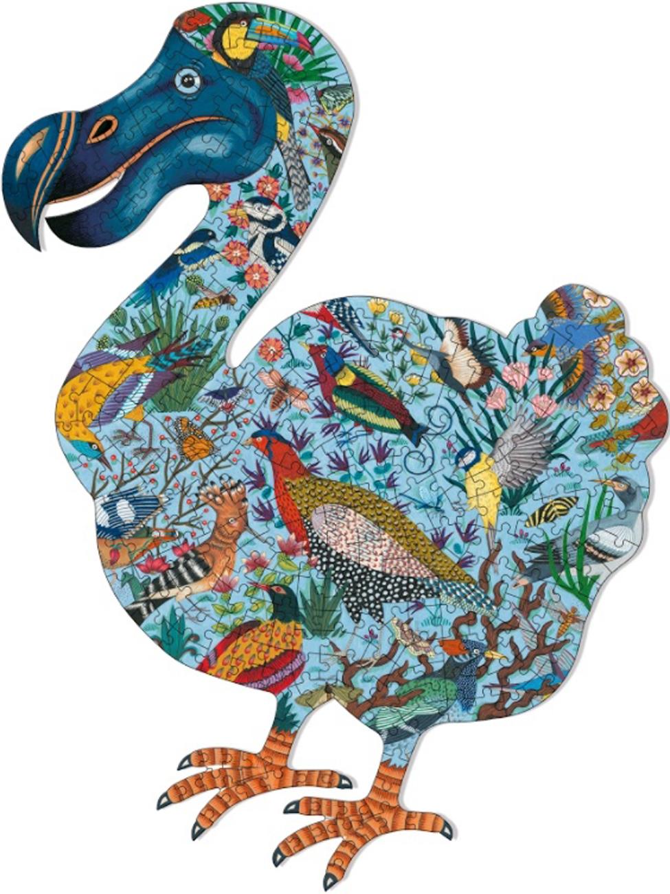 Dodo Birds Shaped Puzzle
