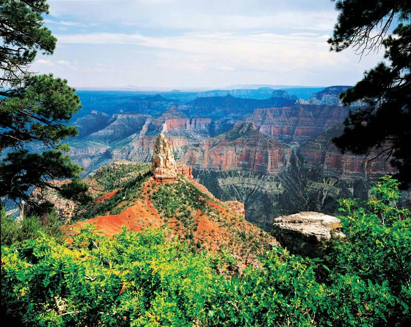 Grand Canyon North Rim - Scratch and Dent Mountains Jigsaw Puzzle