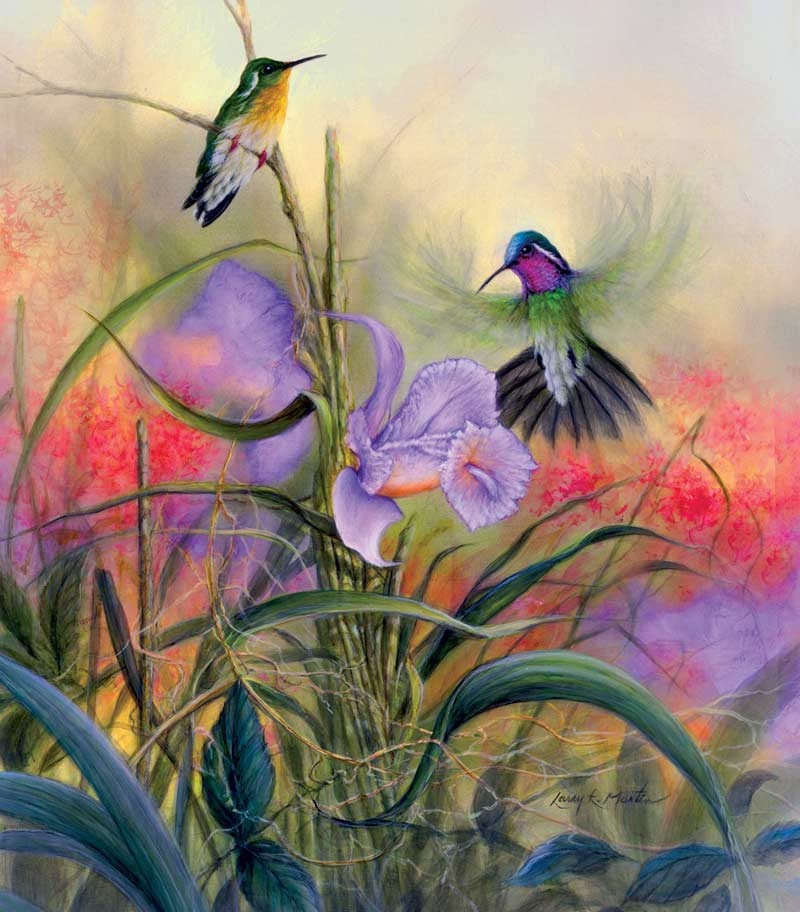 Mountain Gems Birds Jigsaw Puzzle