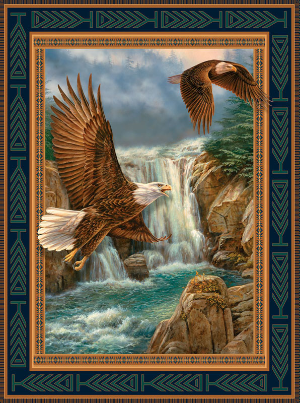 Bald Eagle Cameos Eagles Jigsaw Puzzle