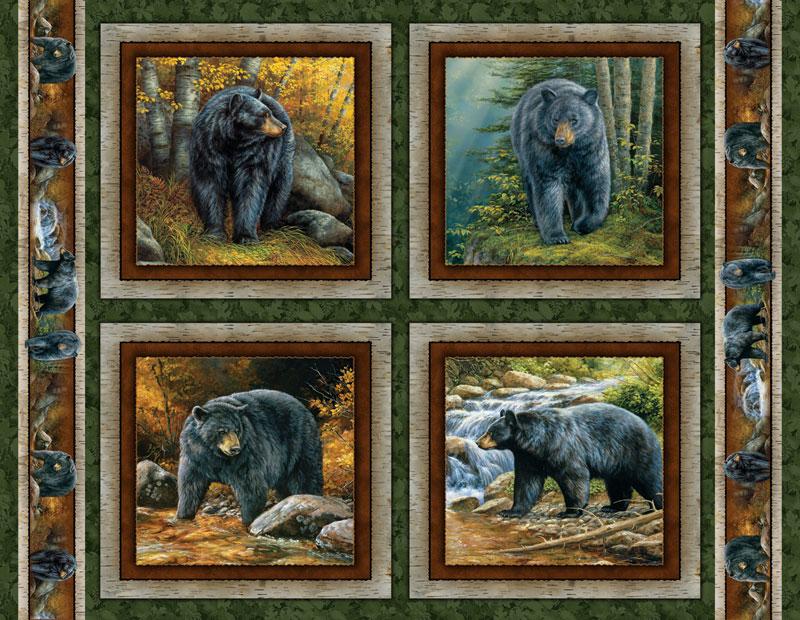 Bear Cameos Bears Jigsaw Puzzle