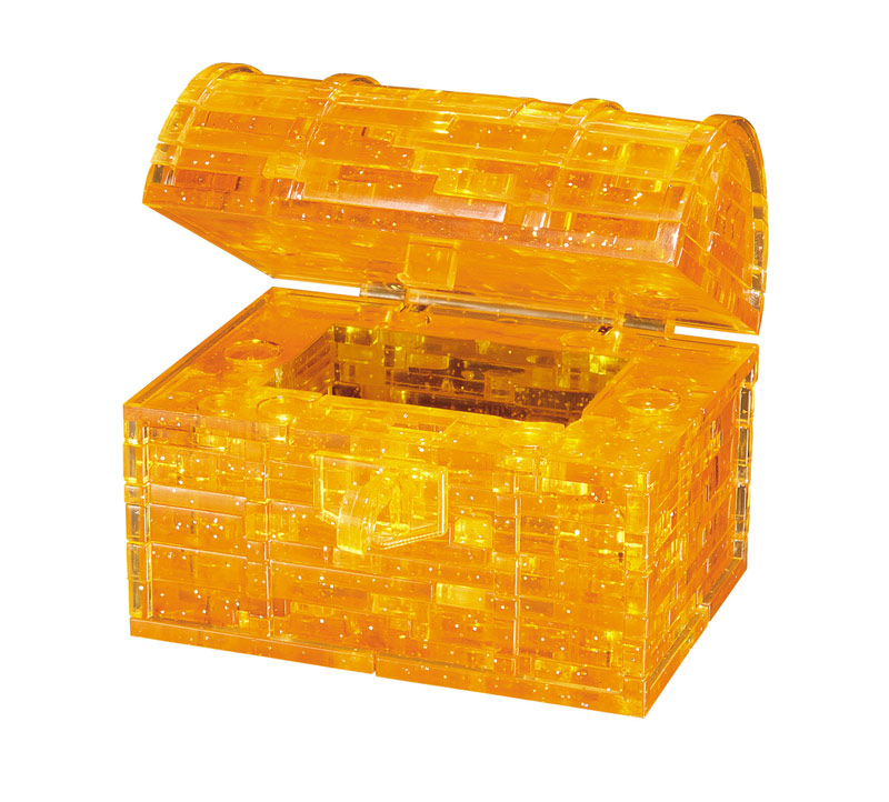 Treasure Chest (Gold) Everyday Objects Jigsaw Puzzle