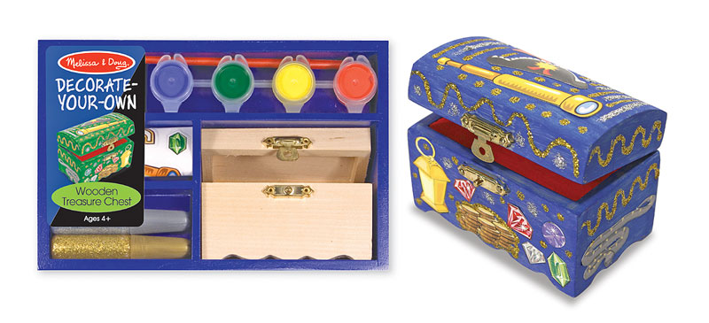 Wooden Treasure Chest - DYO Fantasy