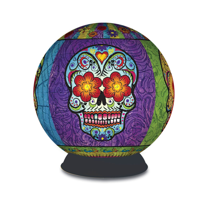 Puzzle Sphere - Day of the Dead Mexico Jigsaw Puzzle