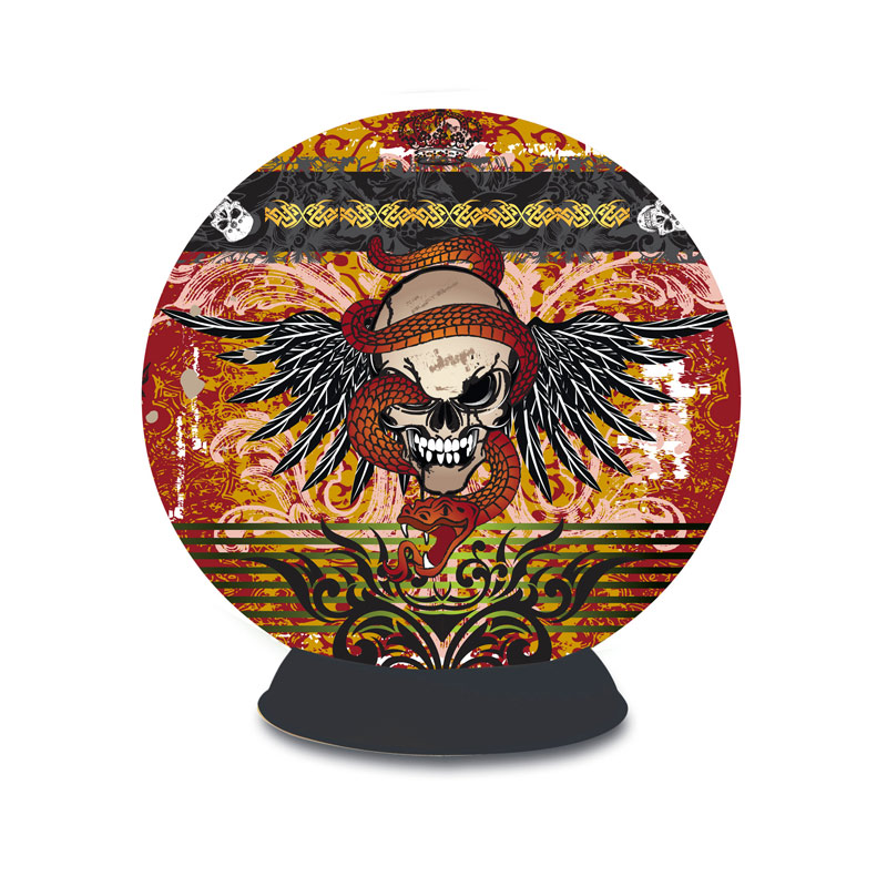 Puzzle Sphere - Skull Tattoo Gothic Jigsaw Puzzle