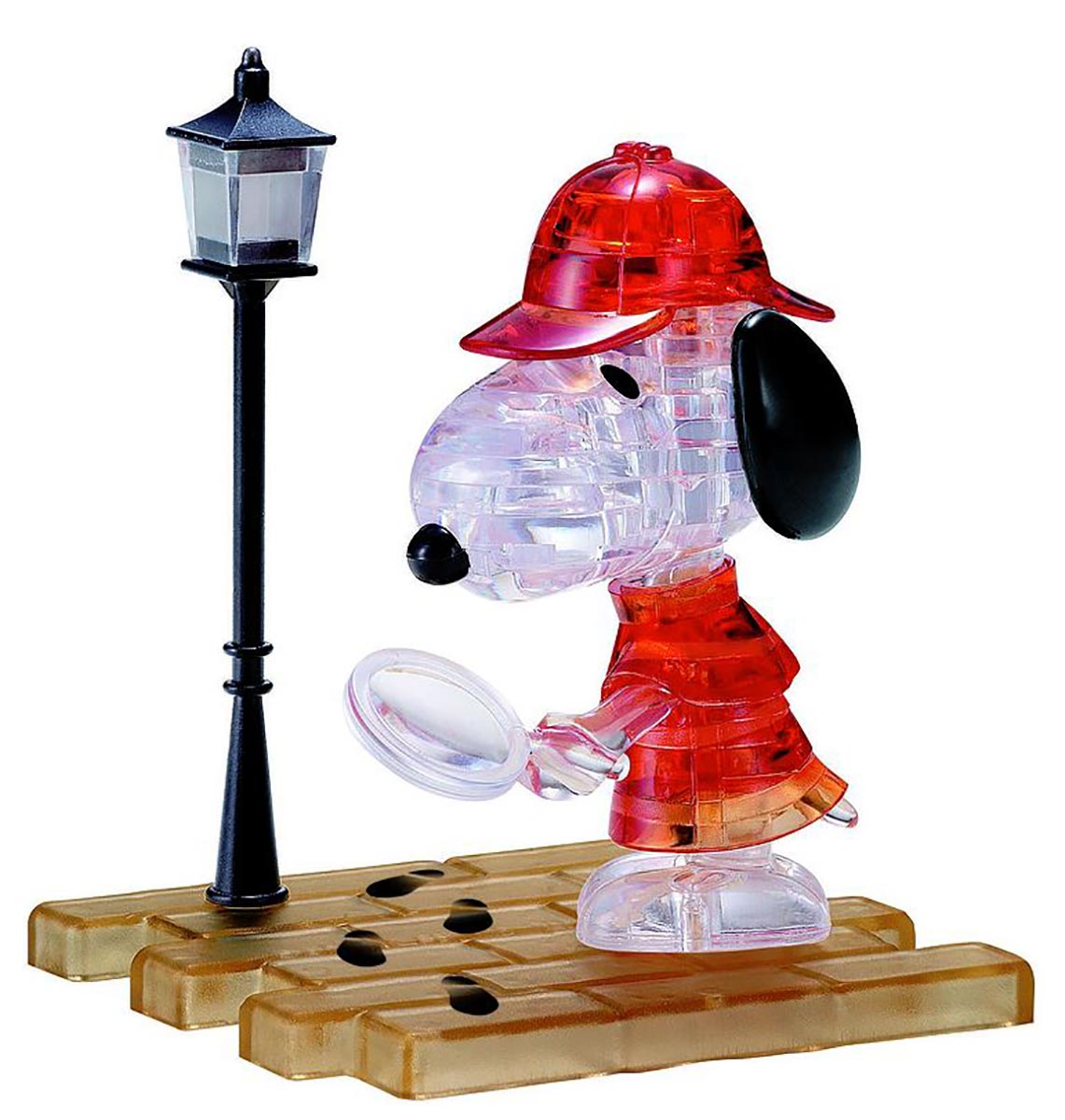 Snoopy Detective Cartoons Jigsaw Puzzle