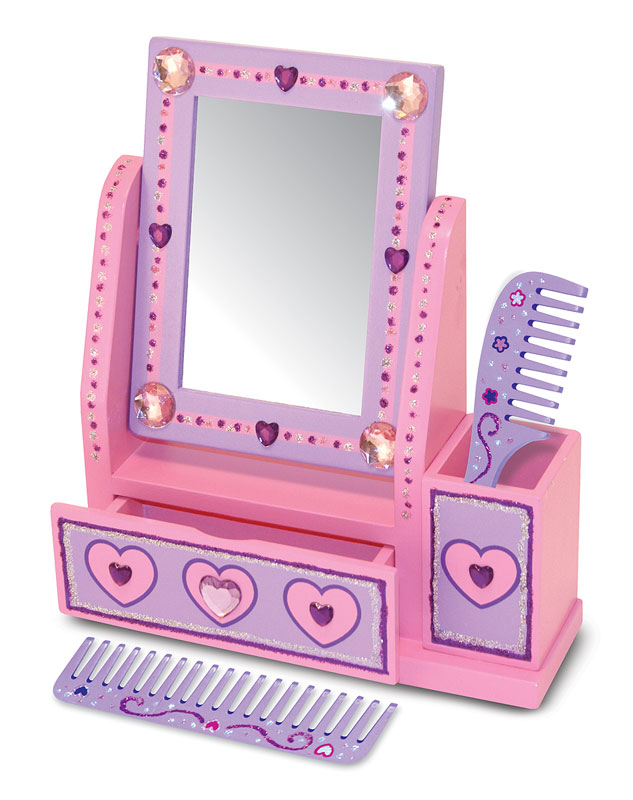 Vanity Set - DYO Valentine's Day Arts and Crafts