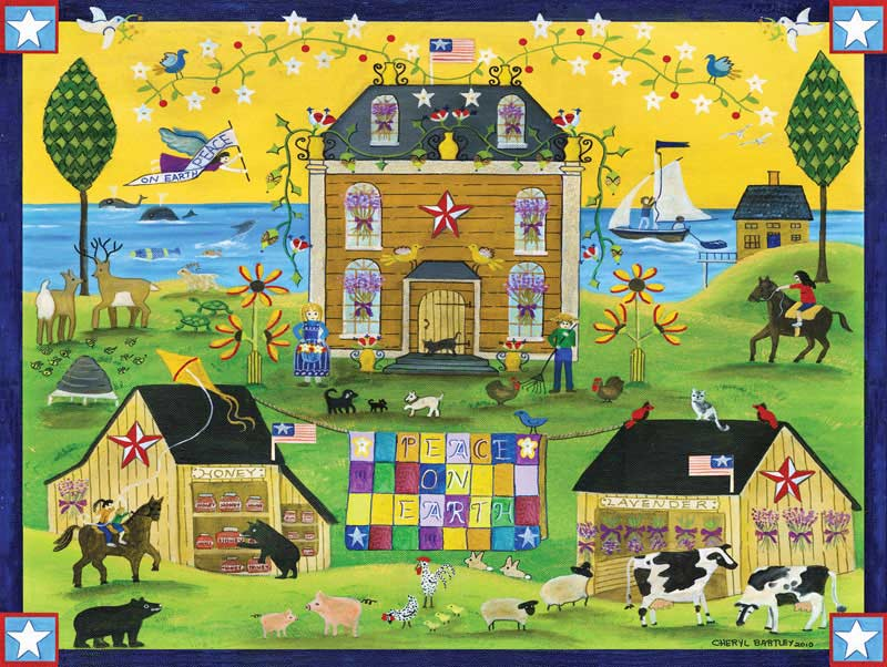 Town & Country - Peace on Earth Jigsaw Puzzle