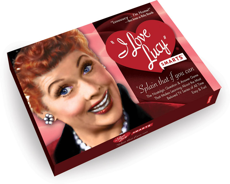 I Love Lucy Smarts Card Game