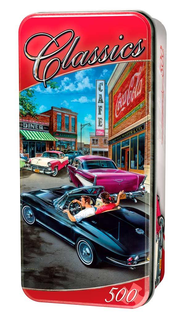 Classics - Cruisen Time Americana Jigsaw Puzzle
