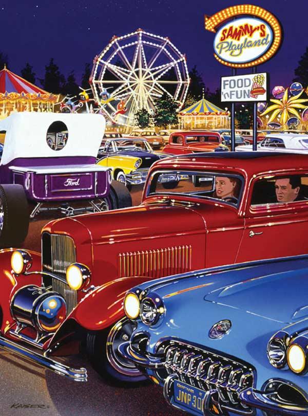 Classics - Sammy's Playland Americana Jigsaw Puzzle
