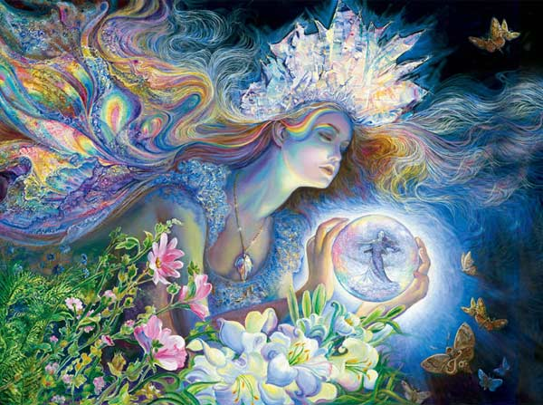 Josephine Wall Space Savers - Princess of Light Fantasy Jigsaw Puzzle