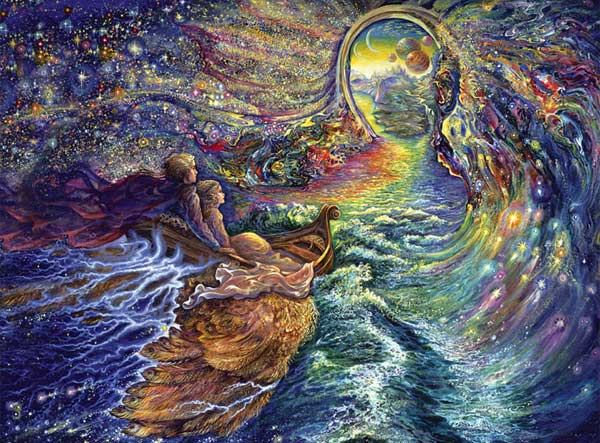 Josephine Wall Space Savers - The Gateway Fantasy Jigsaw Puzzle