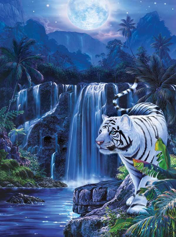 Glitter - Moonlit Tiger Fantasy Glitter/Shimmer/Foil
