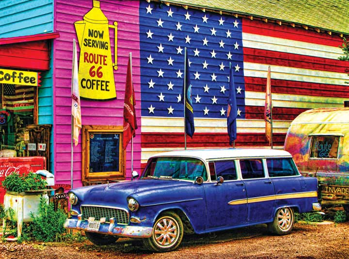 Masters of Photography Space Savers - Now Serving Americana Jigsaw Puzzle