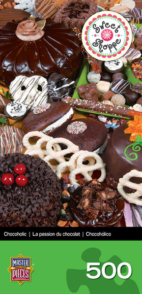 Sweet Shoppe Space Savers - Chocoholic Food and Drink Jigsaw Puzzle