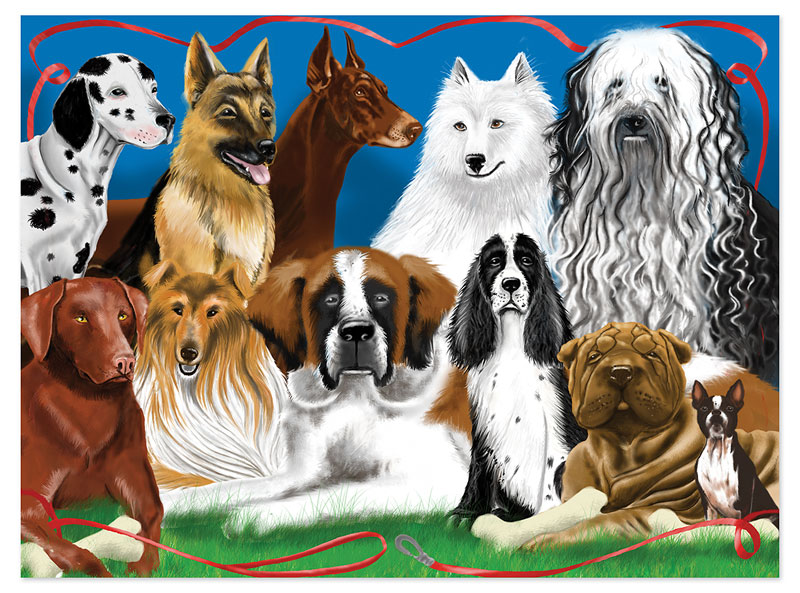 Fetching Friends Dogs Children's Puzzles