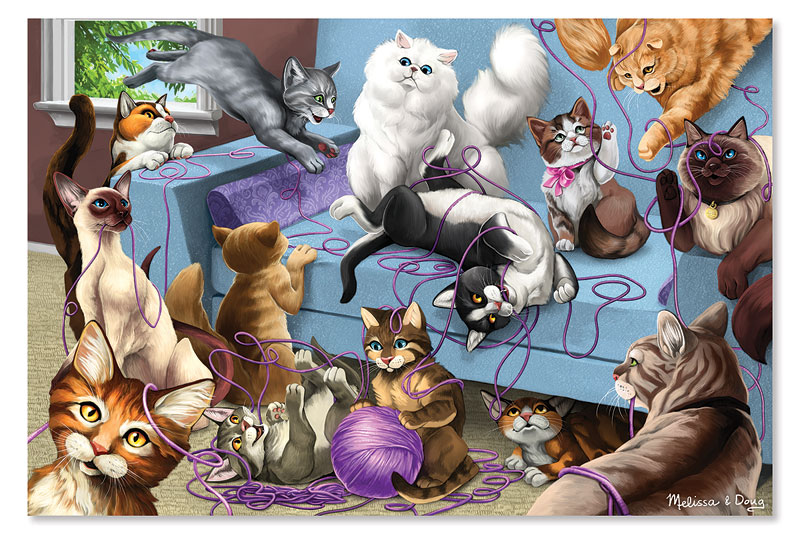 Feline Fun Cats Children's Puzzles