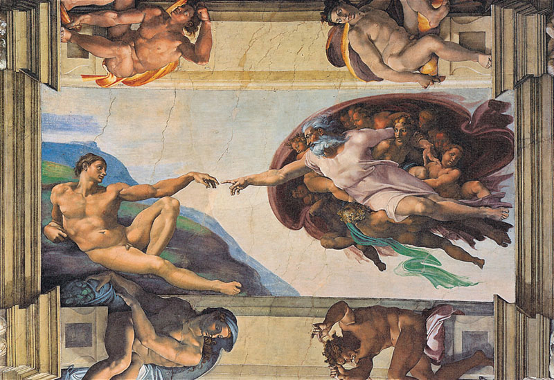 Creation of Man Renaissance Jigsaw Puzzle