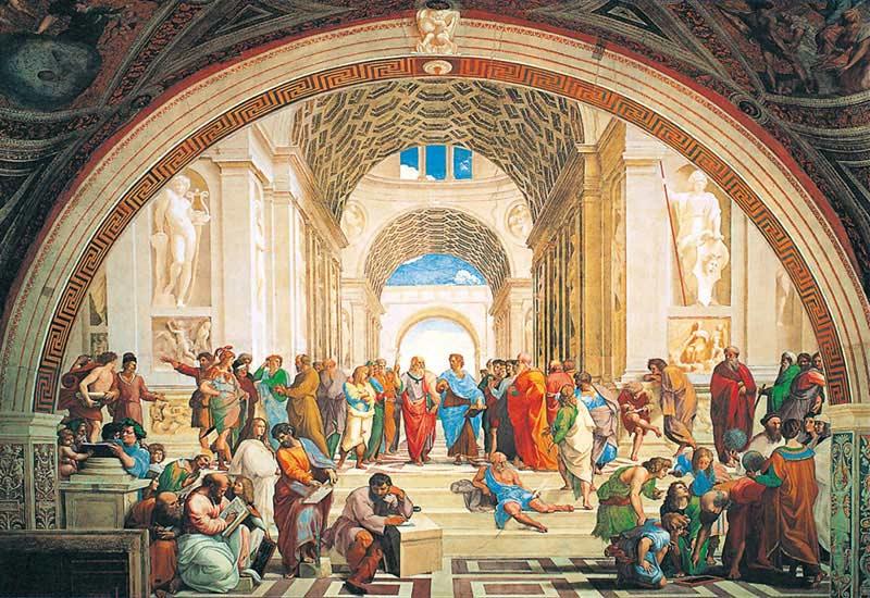 School of Athens Renaissance Jigsaw Puzzle