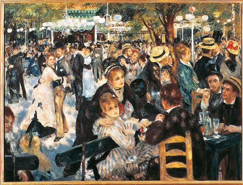 Le Moulin de la Galette Impressionism Jigsaw Puzzle