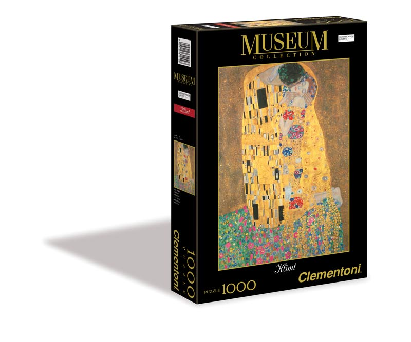 The Kiss (Museum Collection) Valentine's Day Jigsaw Puzzle