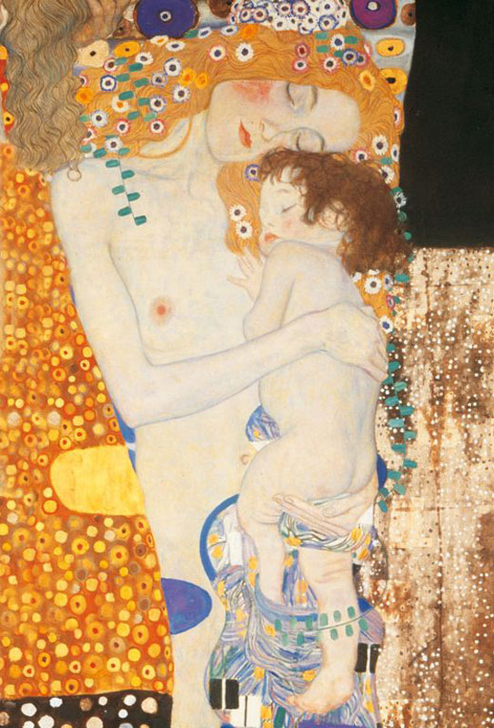 Klimt - 3 Ages of Women Mother's Day Jigsaw Puzzle