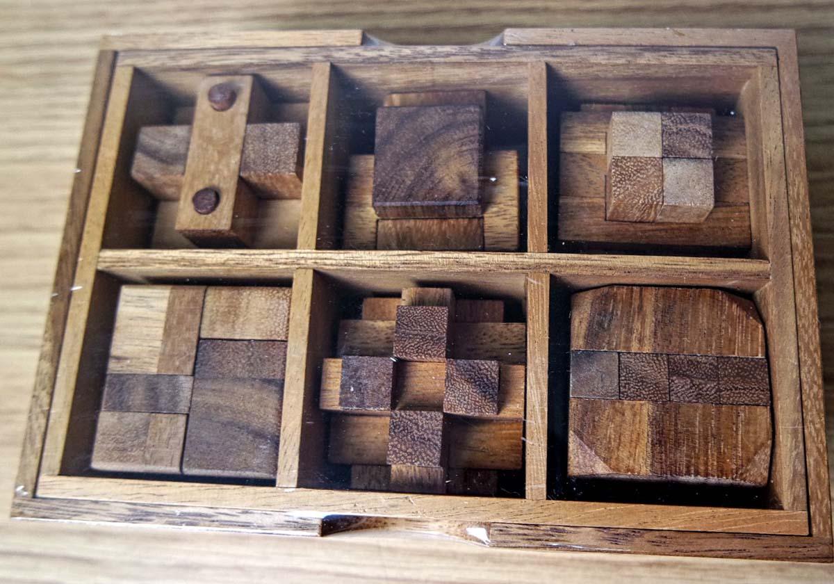 6 Puzzle Gift Set (Premium)