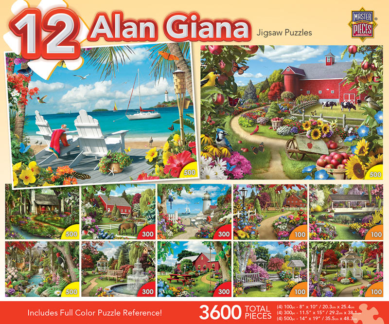 Giana Bundle - Scratch and Dent Summer Jigsaw Puzzle