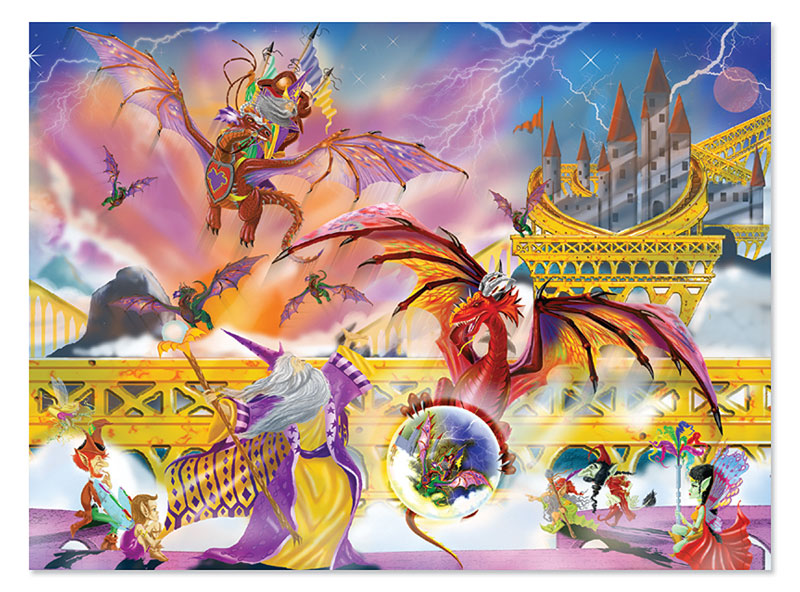 Dragon Storm Dragons Jigsaw Puzzle
