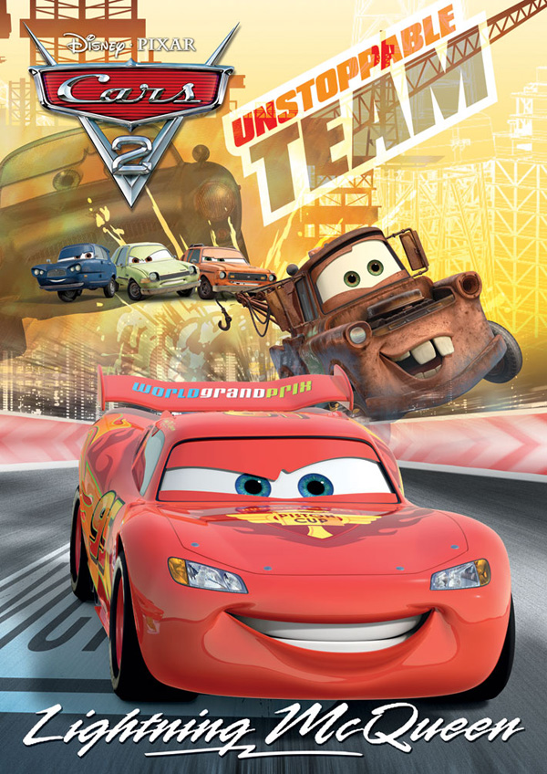 Disney Poster Puzzle Lightning Mcqueen Jigsaw Puzzle