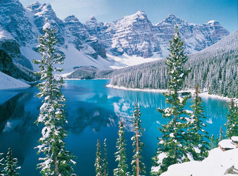 Moraine Lake Banff Park Canada Jigsaw Puzzle