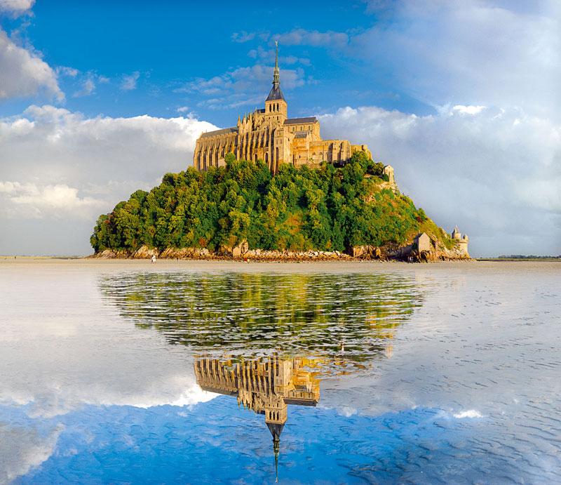 Mont St. Michel Landmarks Jigsaw Puzzle