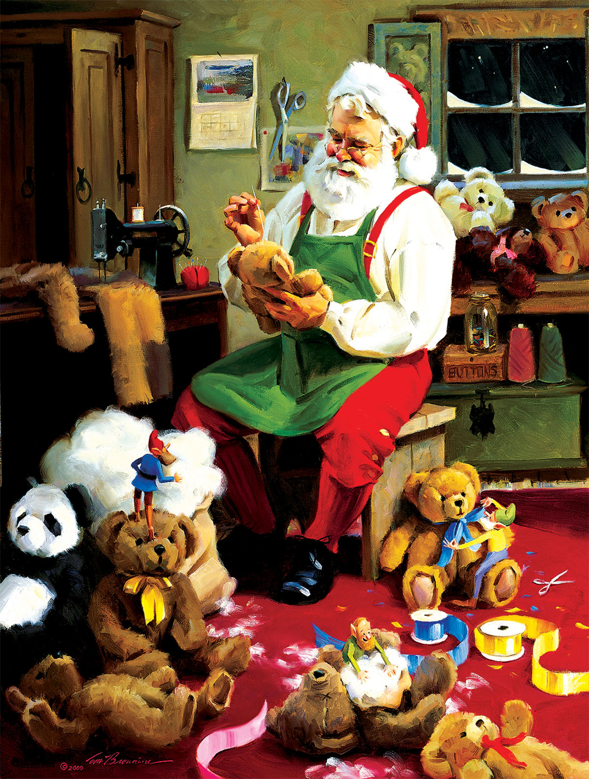 Bearly Christmas Bears Jigsaw Puzzle