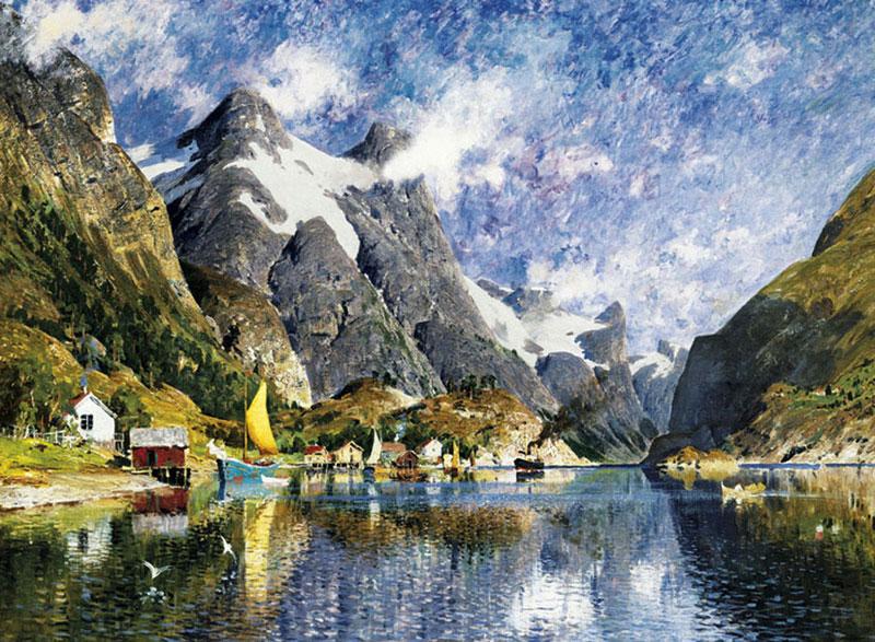 A Norwegian Fjord 2000 Pcs Jigsaw Puzzle