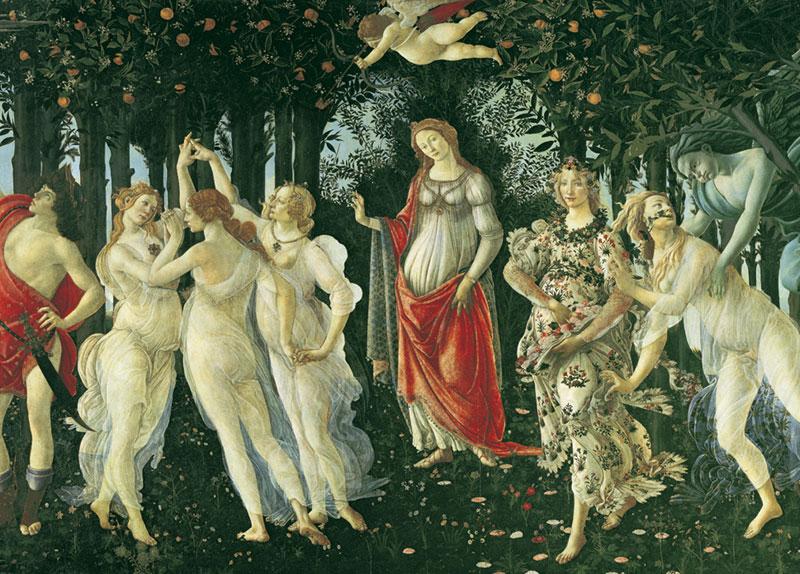 Botticelli - Spring Renaissance Jigsaw Puzzle