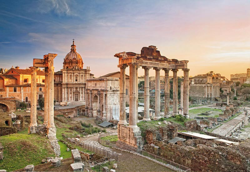 Forum Romanum Travel Jigsaw Puzzle