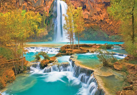 Canyon Oasis Mother's Day Jigsaw Puzzle