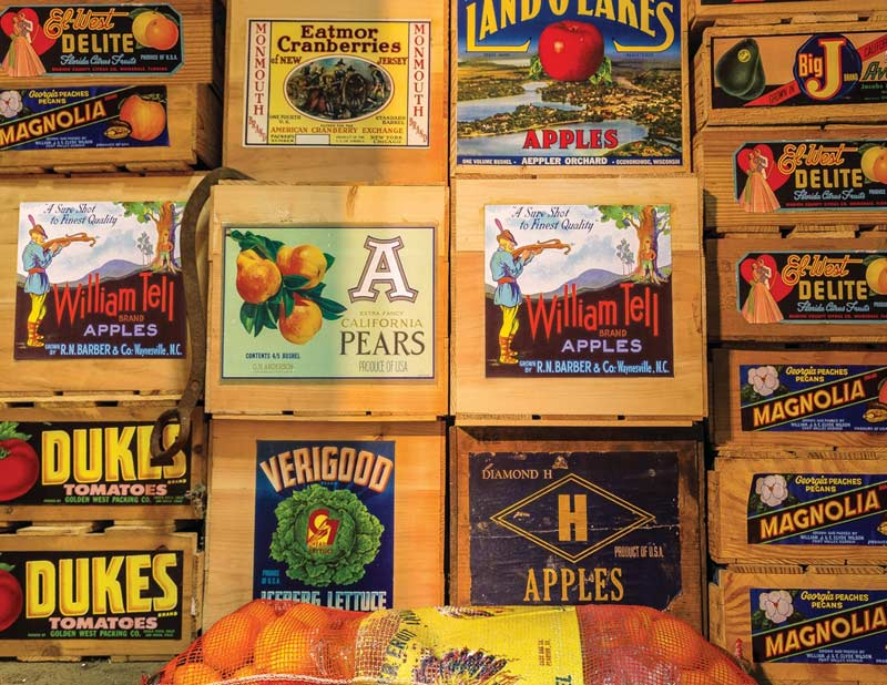 Vintage Labels Food and Drink Jigsaw Puzzle