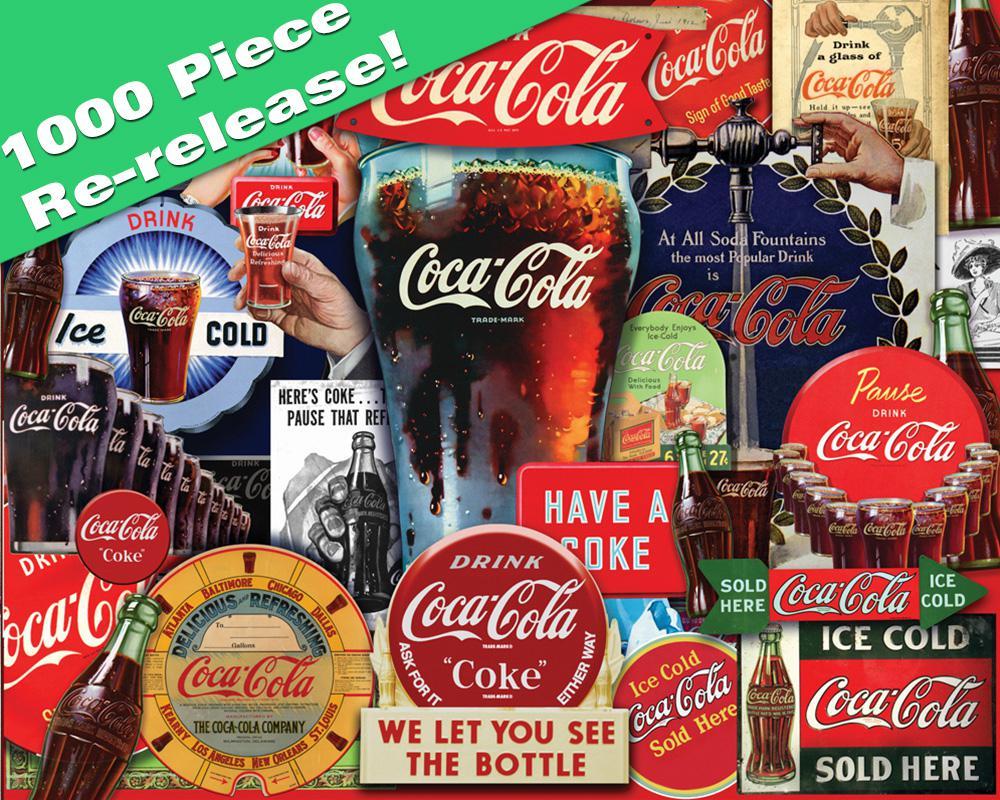 Decades of Tradition Coca Cola Jigsaw Puzzle