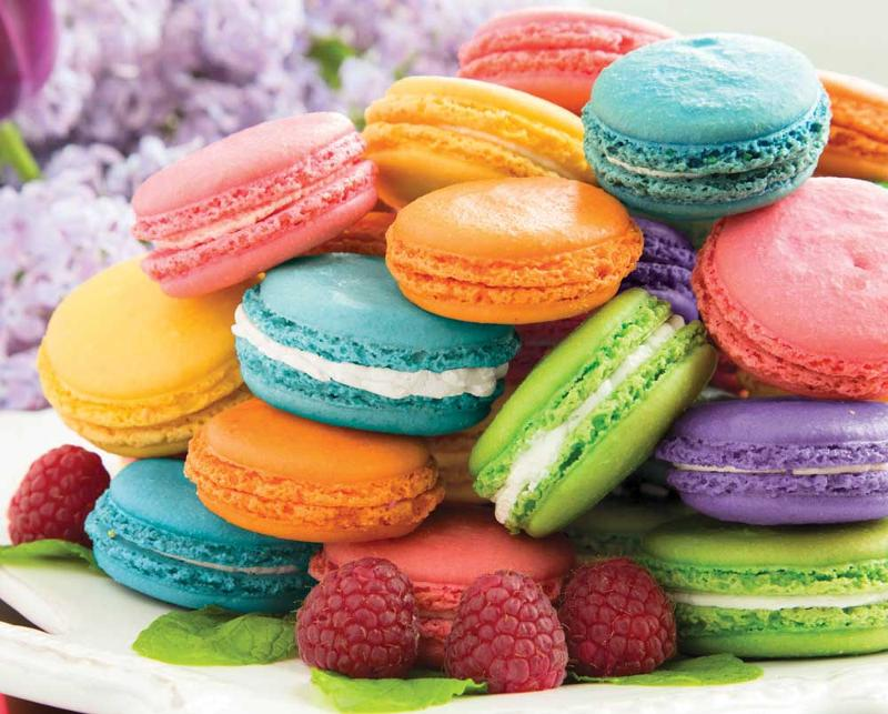 Macarons Food and Drink Jigsaw Puzzle