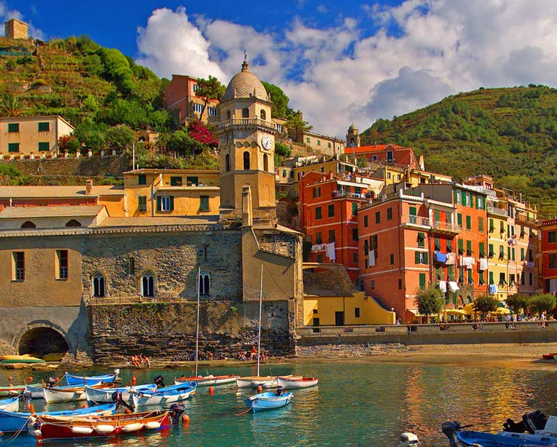 Cinque Terre (Vernazza) - Scratch and Dent Travel Jigsaw Puzzle