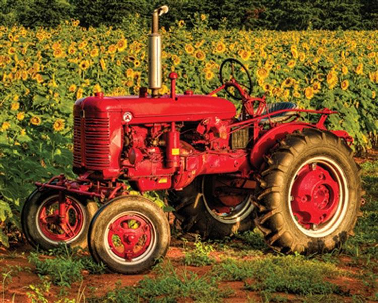 American Made Farm Jigsaw Puzzle
