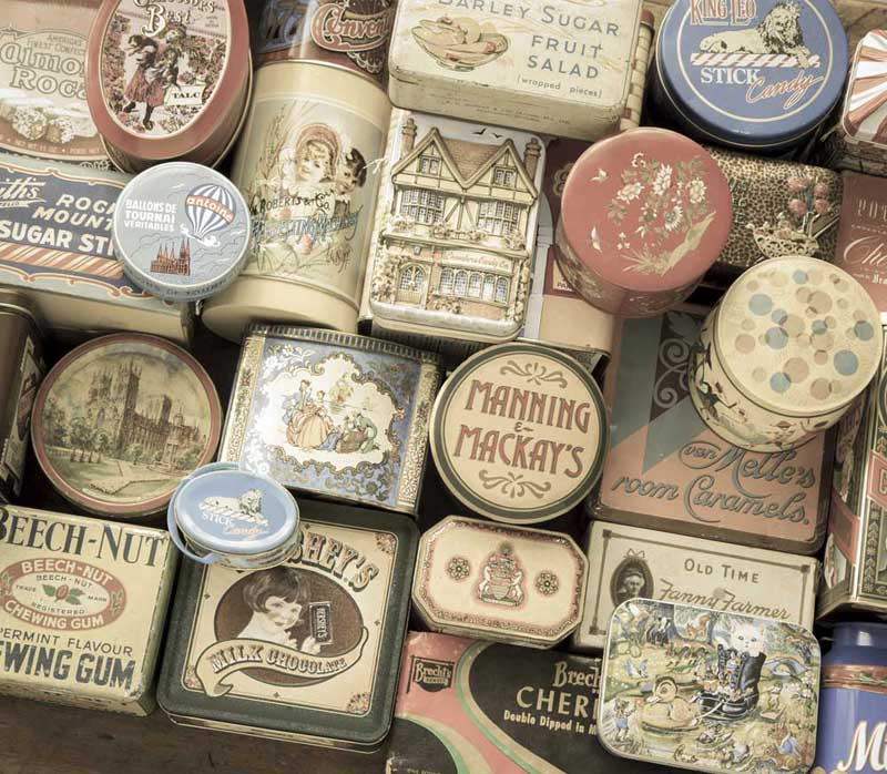 Vintage Treasures Everyday Objects Jigsaw Puzzle