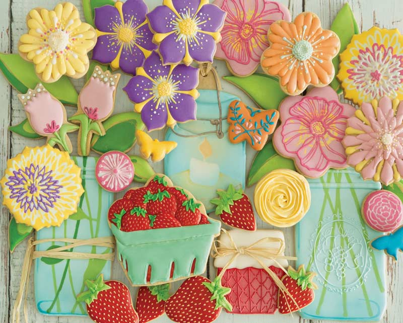 Springtime Cookies Jigsaw Puzzle | PuzzleWarehouse.com