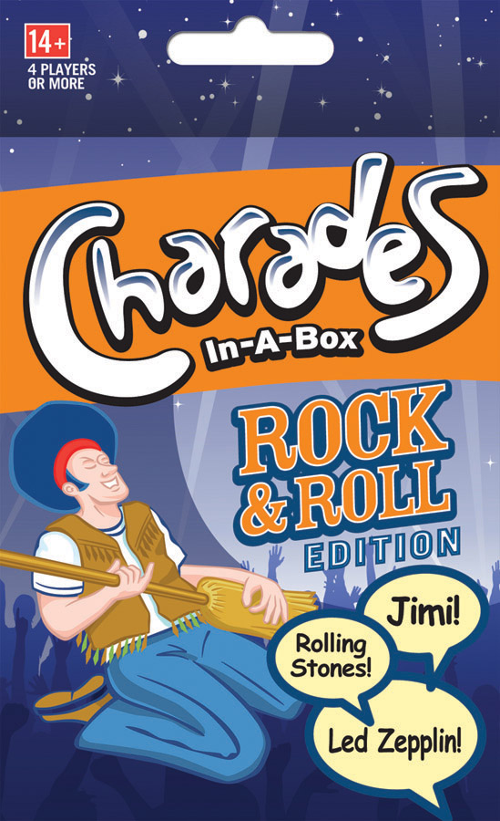 Charades: Rock & Roll Game