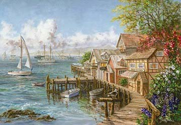 Mariner's Haven Boats Jigsaw Puzzle